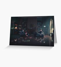 Sherlock and John - Season 4 Greeting Card