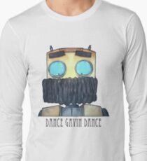Dance Gavin Dance Character (W/ Text) Long Sleeve T-Shirt