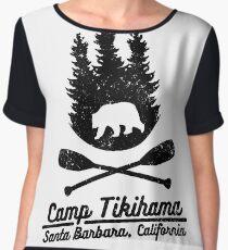 camp tikihama Chiffon Top