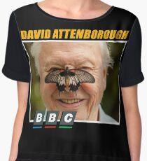 david attenborough Chiffon Top