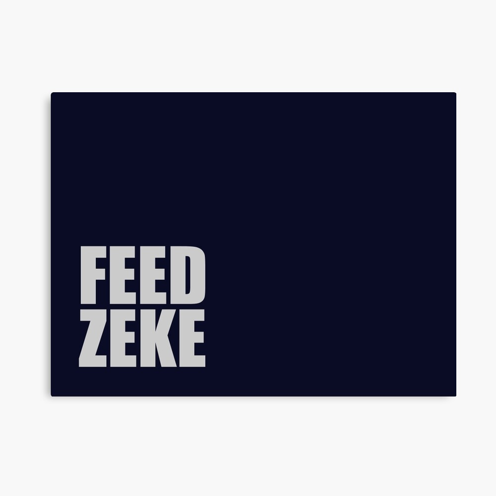 Feed Zeke Canvas Print