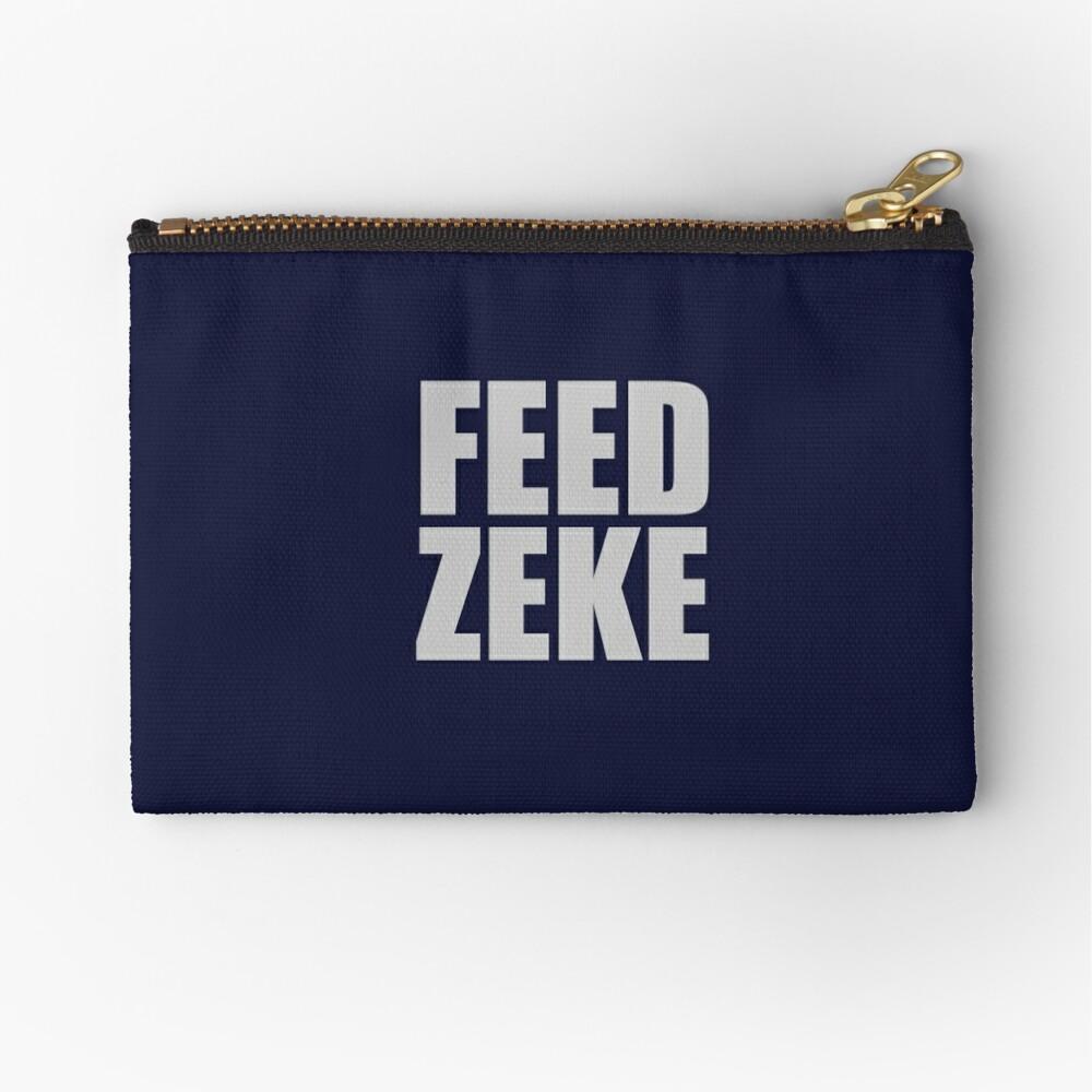 Feed Zeke Zipper Pouch