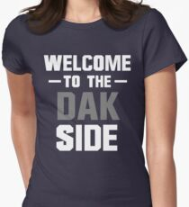 Welcome to the Dak Side Womens Fitted T-Shirt