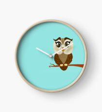 Larger Owl Clock