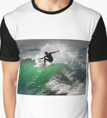 Surfing at Winkipop Graphic T-Shirt