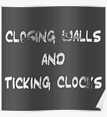 Coldplay - Clocks Poster
