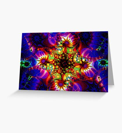Fired Synapse of the Holographic Mind Greeting Card