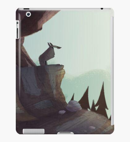 Watchful Wolf iPad Case/Skin