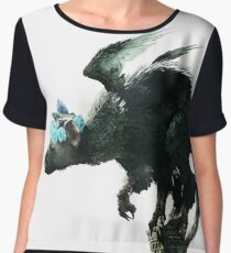 Trico Flower Crown (The Last Guardian) Women's Chiffon Top