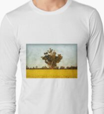 Canola at Grenfell Long Sleeve T-Shirt