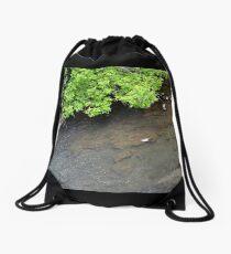Waterside Trees Drawstring Bag