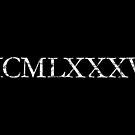 MCMLXXXVI 1986 Roman Vintage Birthday Year by theshirtshops