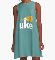 Uke A-Line Dress