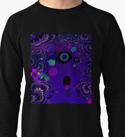 My Mind is Going. I Can Feel It. - Psychedelic Visionary Art Lightweight Sweatshirt