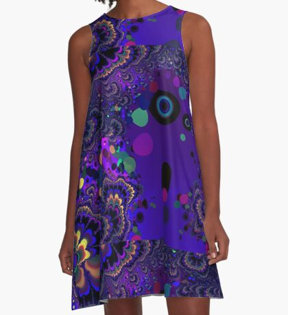 My Mind is Going. I Can Feel It. - Psychedelic Visionary Art A-Line Dress