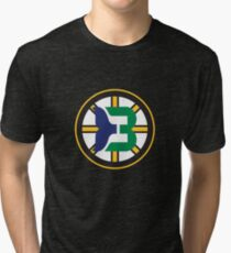 Boston Whalers - Hartford Bruins Tri-blend T-Shirt
