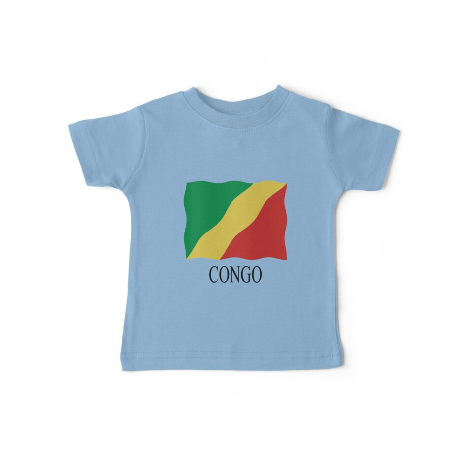 Congolese flag by stuwdamdorp