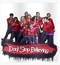 Don't Stop Believing    Glee Poster