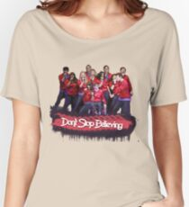 Don't Stop Believing || Glee Women's Relaxed Fit T-Shirt