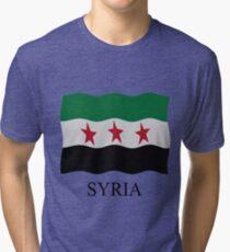 Syrian Republic 1932-59 1961-63 Tri-blend T-Shirt