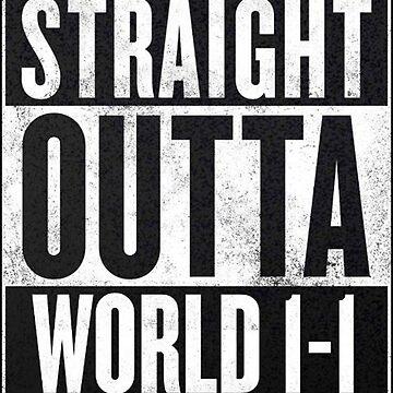 Super Mario - Straight Outta World 1-1 by yomitori