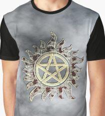 Supernatural devil's trap logo Graphic T-Shirt