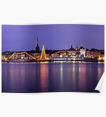 Christmas Tree - Stockholm, Sweden Poster
