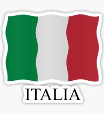 Italia flag Sticker