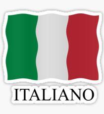 Italiano flag Sticker