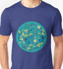 Ethnic indian floral ornament Unisex T-Shirt