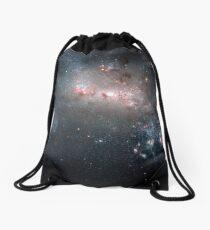 Magellanic dwarf irregular galaxy NGC 4449 in the constellation Canes Venatici. Drawstring Bag