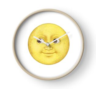 yellow moon emoji - photo #17