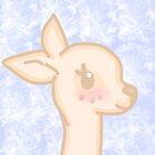 Kawaii deer  by mikistarlight