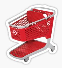 target shopping cart  Sticker