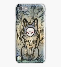 Three Tails - Kitsune Fox Yokai  iPhone Case/Skin