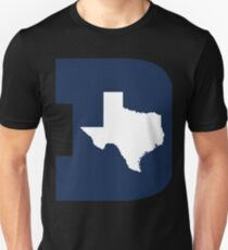 D Texas (Blue/White) Unisex T-Shirt