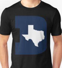 D Texas (Blue/White) T-Shirt