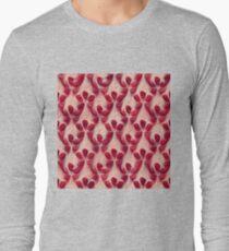 Pomegranate seeds #DeepDream Long Sleeve T-Shirt