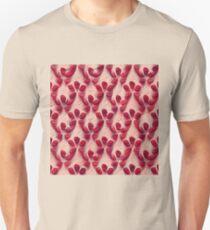 Pomegranate seeds #DeepDream Slim Fit T-Shirt
