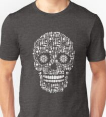 Hair Stylist Sugar Skull Hairstylist Lover Flowers Unisex T-Shirt
