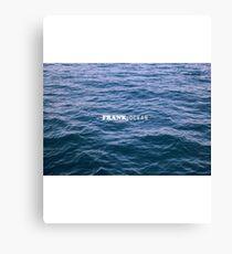 Frank, Ocean  Canvas Print