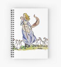 The Goose Girl Spiral Notebook