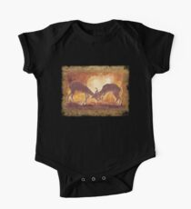 Territorial Dance in the African sunset One Piece - Short Sleeve