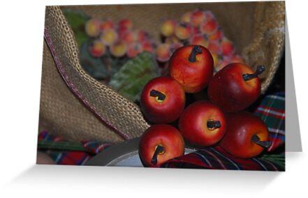 Little apples by Heather Thorsen