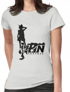 Gunman Simple Womens Fitted T-Shirt