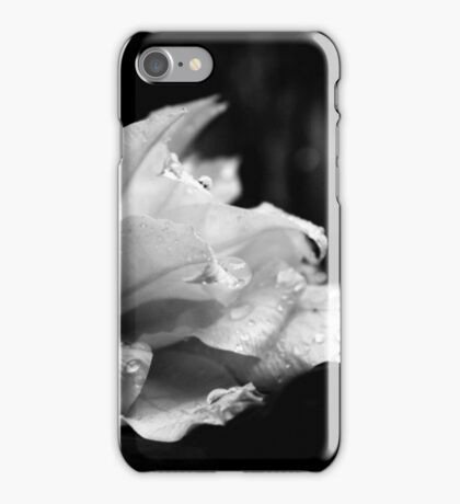 Artic Queen - Clematis 07 - Black and White Photography iPhone Case/Skin