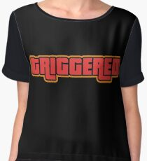 TRIGGERED (GTA - WASTED) Chiffon Top