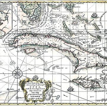 The island of Cuba - 1762 by paulrommer