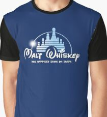 Malt Whiskey The Happiest Drink On Earth Graphic T-Shirt