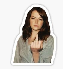 Emma Stone Sticker